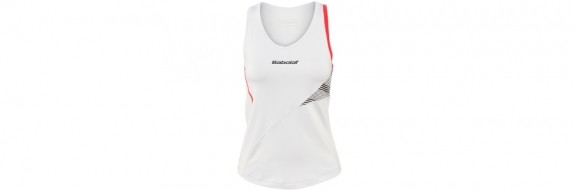 BabolaT Performance Women Tank White 2013