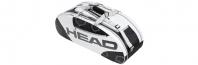 Сак за тенис HEAD Elite All Court Bag White (2013 г.)