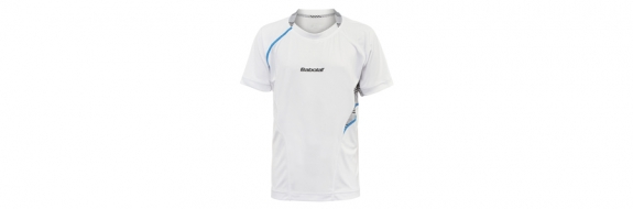 BabolaT Performance Boy Crew White 2013