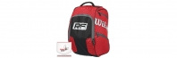 Wilson Federer Elite Red Backpack (2016 г.) Раница за тенис