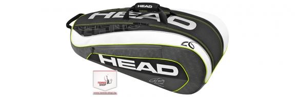 HEAD Djokovic 9R Supercombi BKWH (2016 г) Термобег за тенис