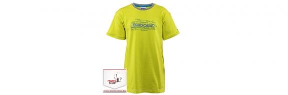BabolaT Tee Core Training Boy Yellow Момчешка тениска