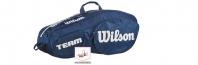 Wilson Team III 6 BLWH (2018 г.) Термобег за тенис