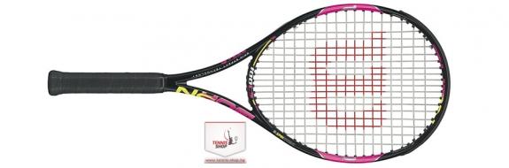Wilson BURN 100 LS Pink (2016 г.) Тенис ракета