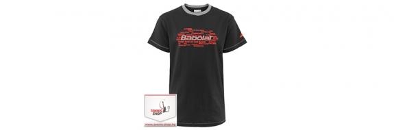 BabolaT Tee Core Training Boy Dark Gray Момчешка тениска