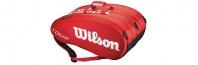 Термобег за тенис Wilson Tour Moulded 15 Red