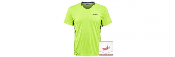 BabolaT T-shirt Crew Neck Perf. Men Yellow Тениска