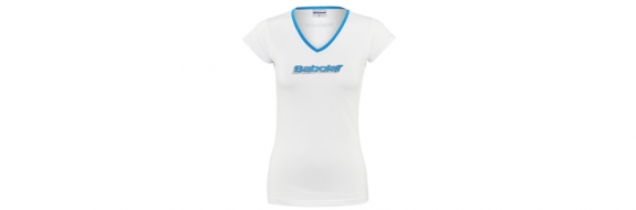 BabolaT T-Shirt Training Women White