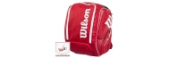 Wilson Tour V Backpack Red XL (2016 г.) Раница за тенис
