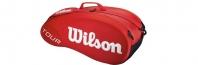 Термобег за тенис Wilson Tour Moulded 6 Red