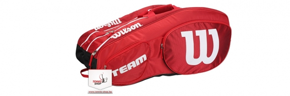 Wilson Team III 12 Pack RDBK (2018 г.) Термобег за тенис