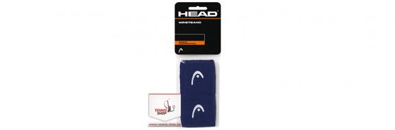 Накитник HEAD Wristband Dark Blue